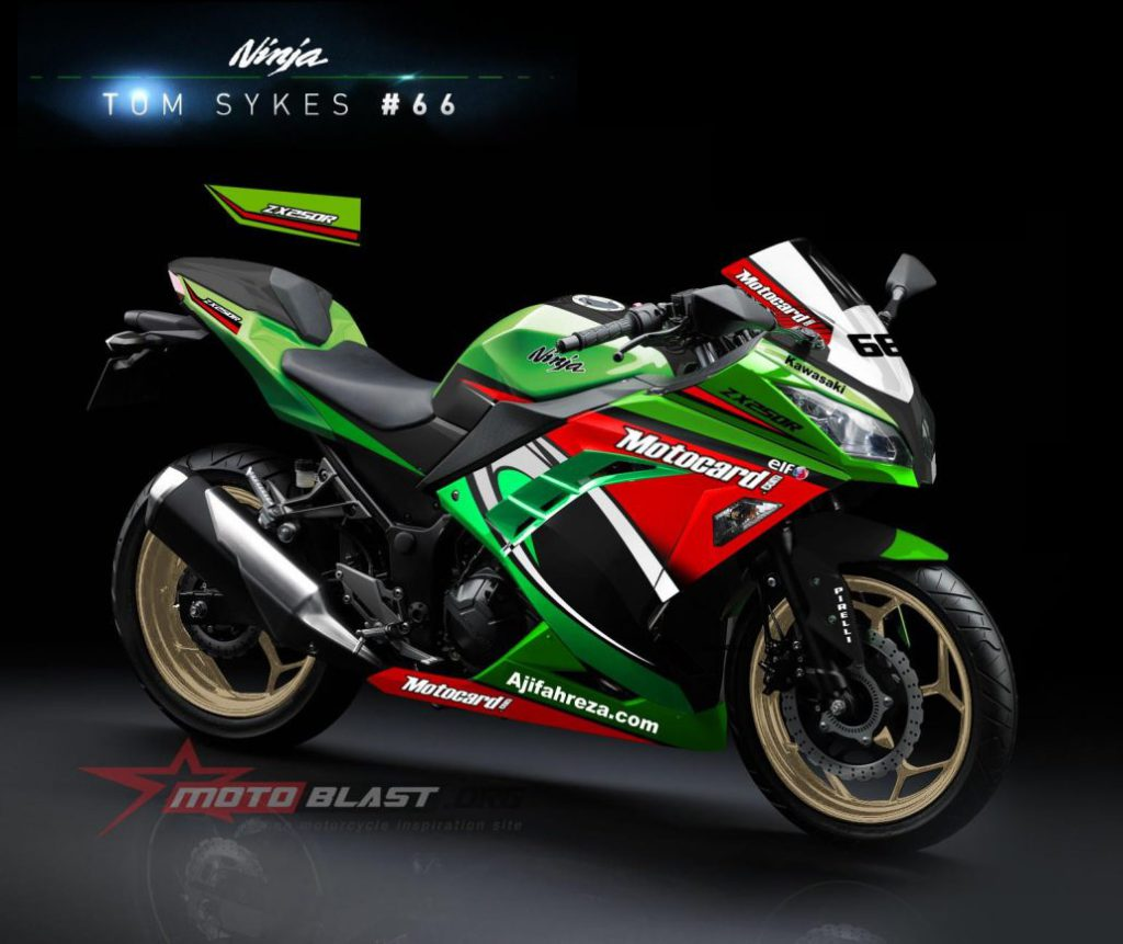 Blog Motoblast On Twitter Modifikasi Striping Kawasaki