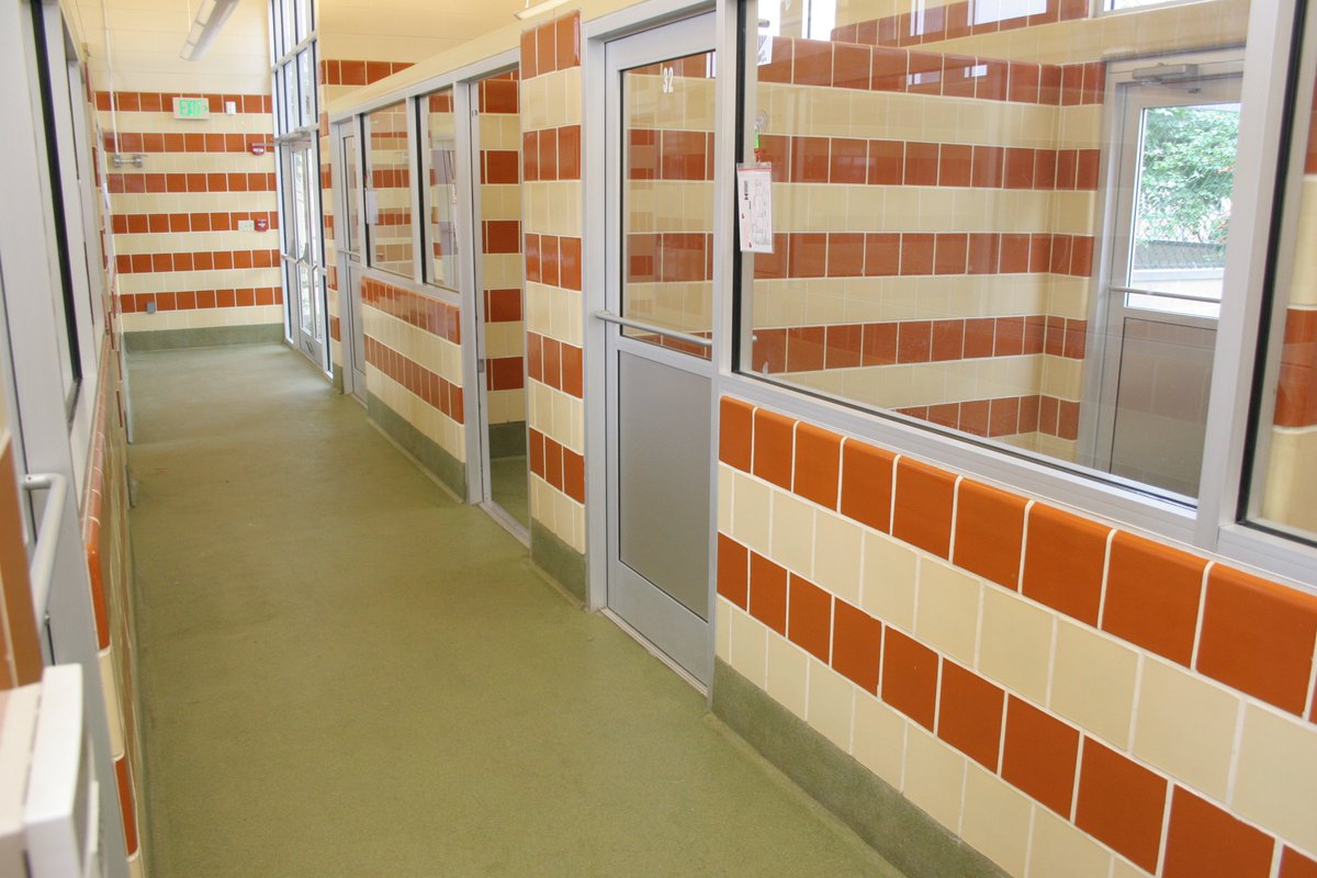 Elgin Butler Company On Twitter Our Glazed Brick Structural Tile Are The Perfect Match For Animal Shelters Elginbutler Glazedbrick Tilework