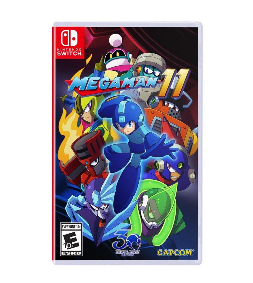 Capcom anuncia fecha de lanzamiento de Mega Man 11