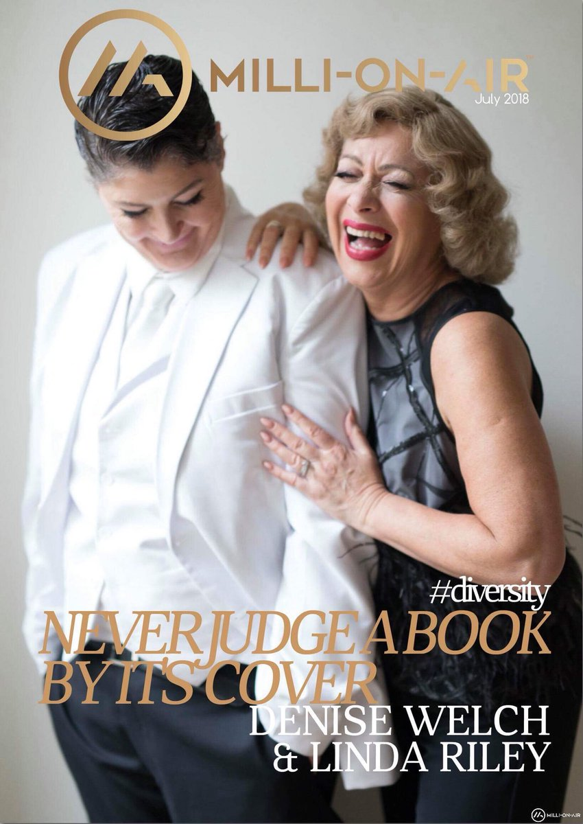 #Diversity issue @RealDeniseWelch &@LindaRiley8 #Exclusive in @millionair_mag #July #issue @different4girls @Official_MJCa as you have never seen them before @diversityaward  @DIVAmagazine #Donotjudgeabookbyitscover http://www.moa-global.com
