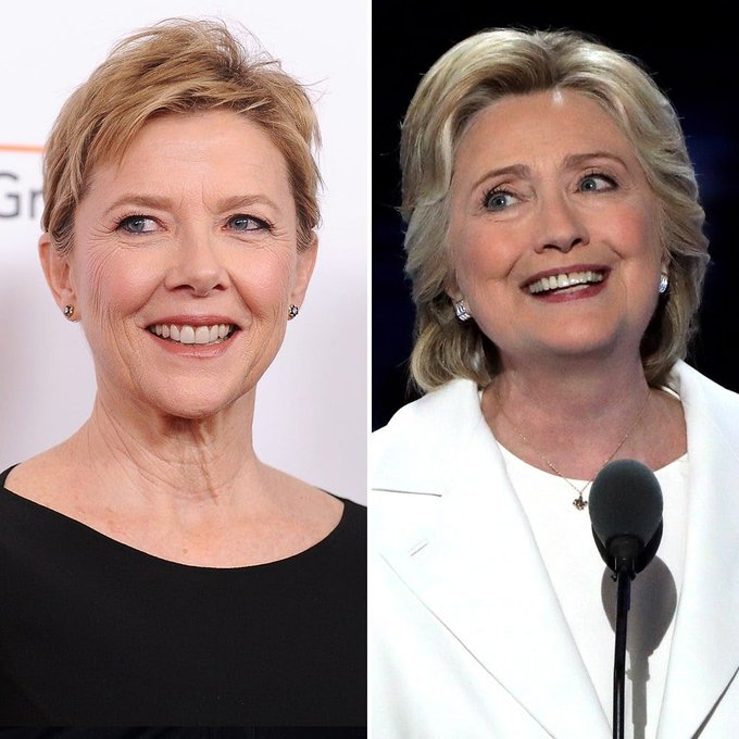 Happy birthday to Annette Bening, who would make a wonderful casting choice for a Hillary biopic.