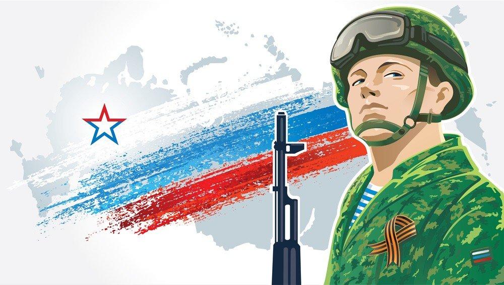 картинки солдат на фоне флага статьей будет история