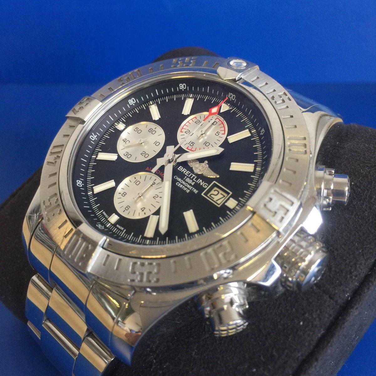 Auction 11th June Gentleman's Breitling Super Avenger II chronograph Steel case, 48mm dia, Jan-2017 #breitling #chronograph #luxurywatch #breitlingavenger #watchcollecting #wristwatch #watchgeek #watchlover #watchcollector #watchenthusiast #auction #watchauction #Ossettpic.twitter.com/sQUGSJxHVC