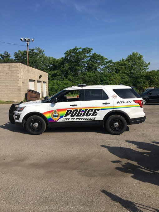 PITTSBURGH POLICE GET HUGE NEW DECALS ON ALL CRUISERS TO APPEASE LIBERALS