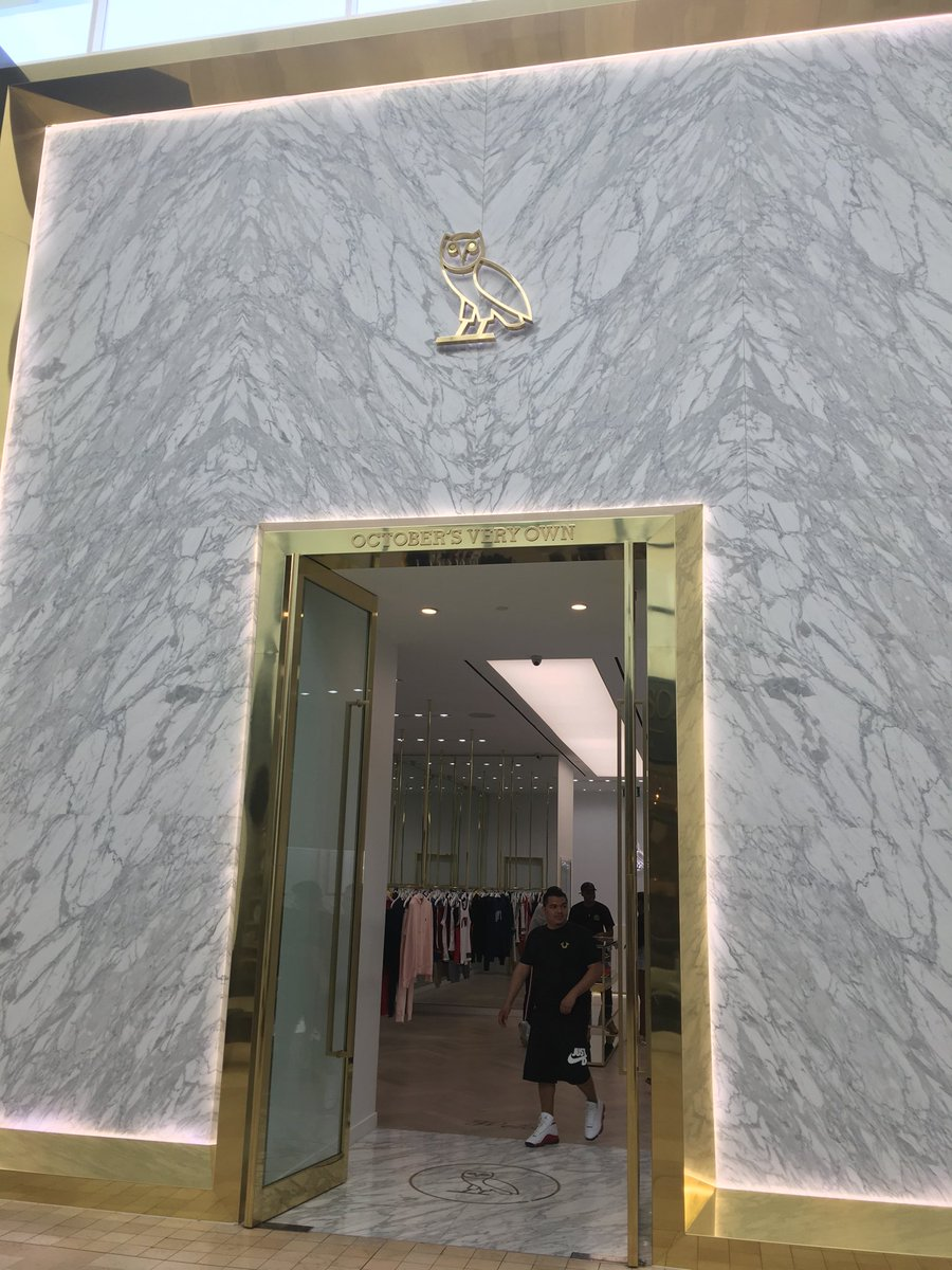 Ovo Store In Yorkdale Toronto Hoping For Ovofest Announcement