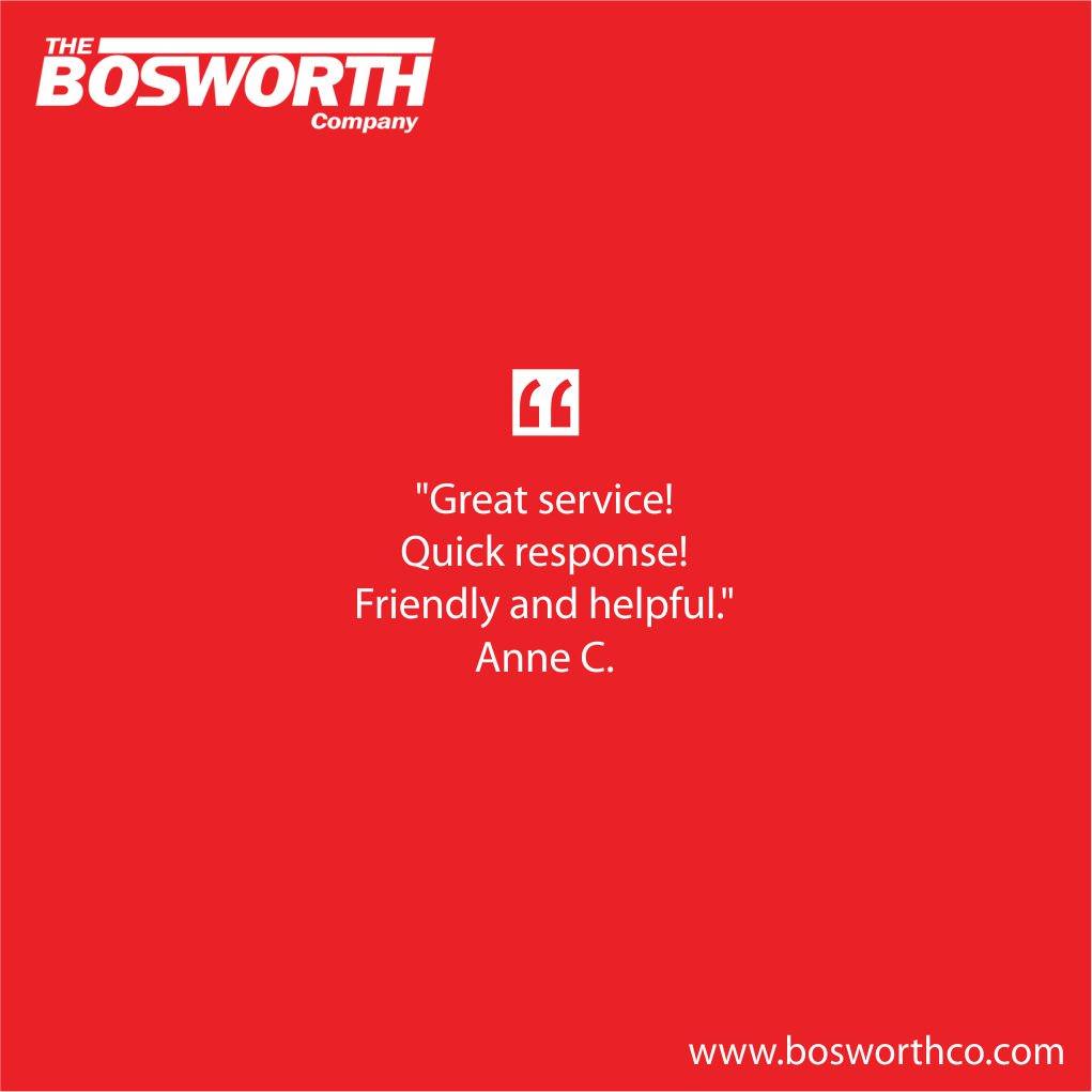 Bosworth Company Followed