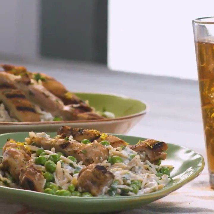 Food Network Canada On Twitter Creamy Lemon Pepper Orzo With