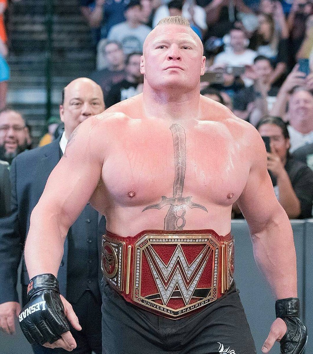 DeYEF0wW4AA0YTU - Does Brock Lesnar Deserve To Be The Longest Reigning Champion Of The Modern Era?