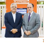 Image for the Tweet beginning: Plastigama participó en la Expo