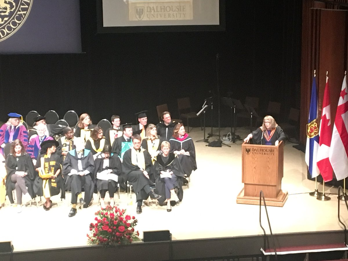 Dalhousie University On Twitter In Her Convocation Address