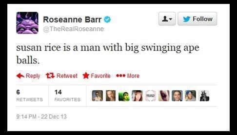 Roseanne barr twitter comment