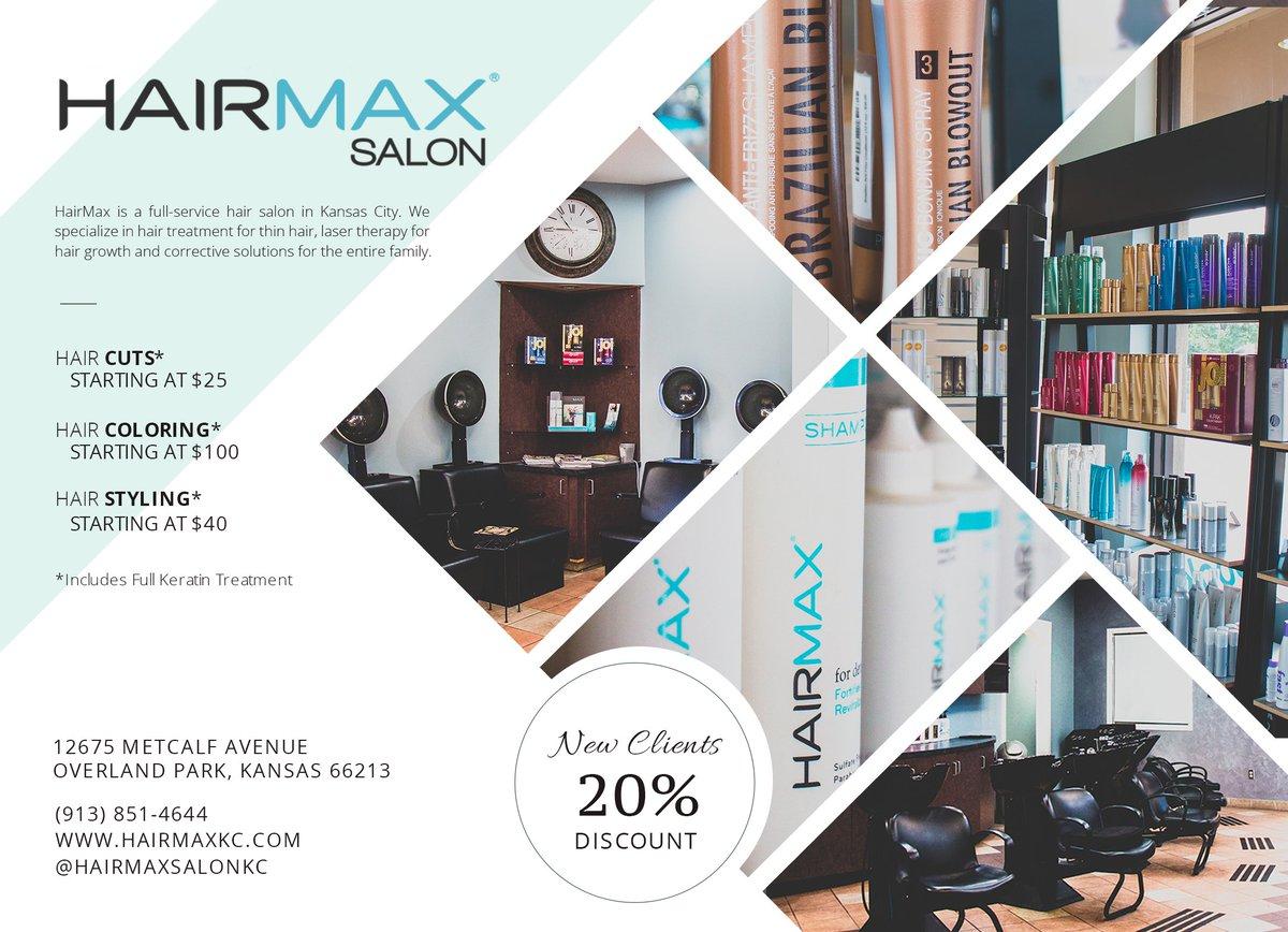 Hairmax Salon Hairmaxkc Twitter