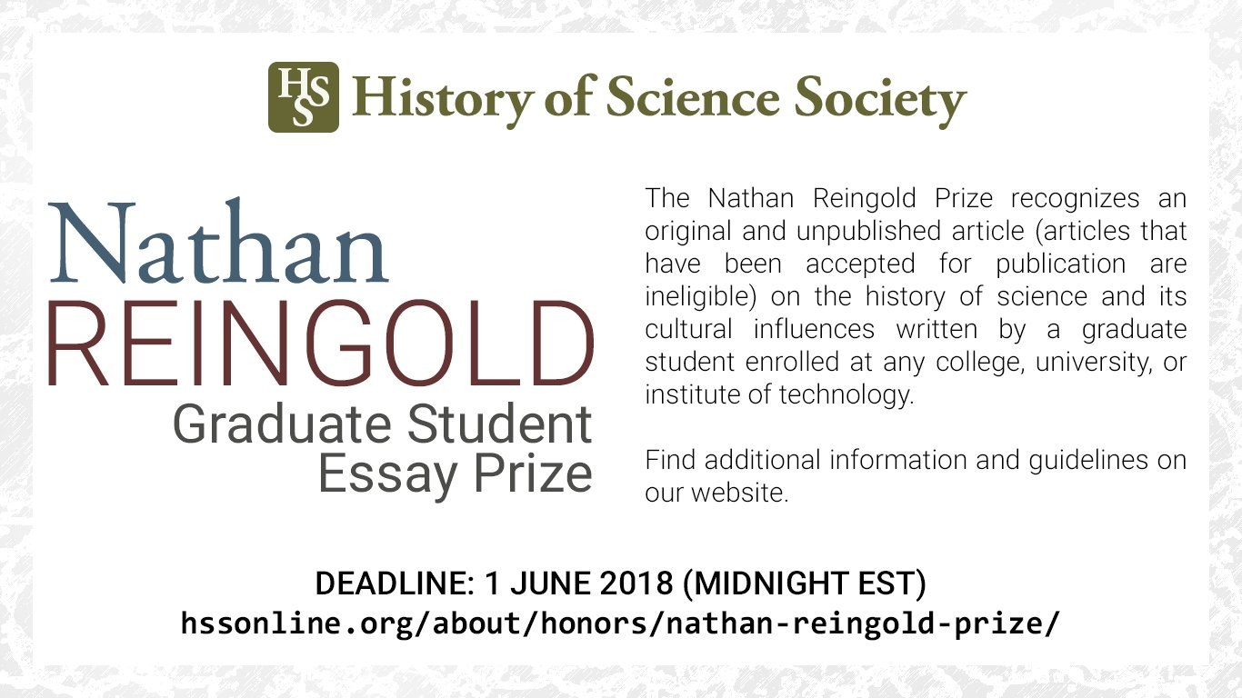 history of science on twitter grad students the deadline to  history of science