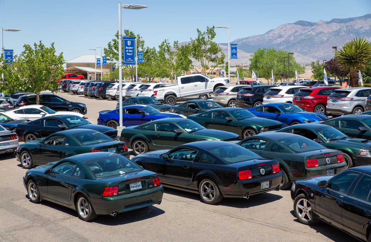 Ford Dealership Albuquerque >> Power Ford On Twitter When The Bullitt Club Drives Across The