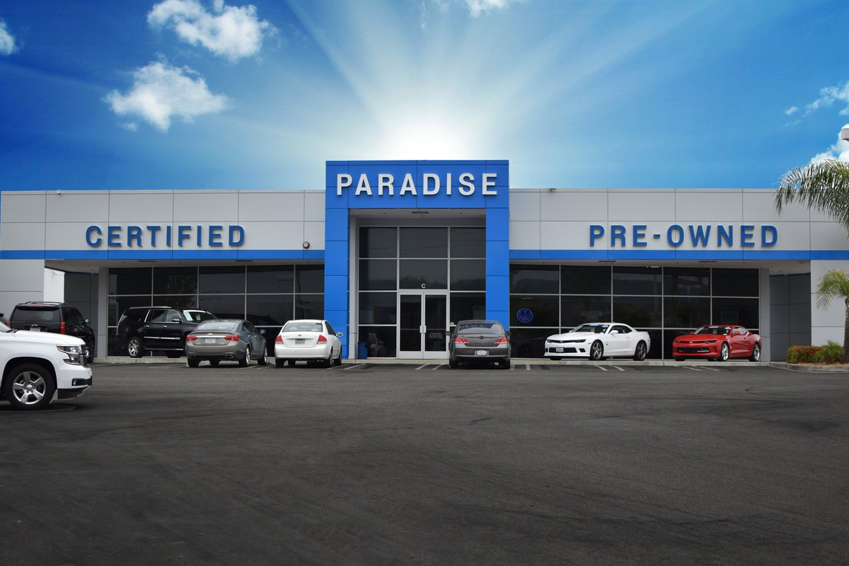 Paradise Chevrolet On Twitter Feel Confident In Your Next