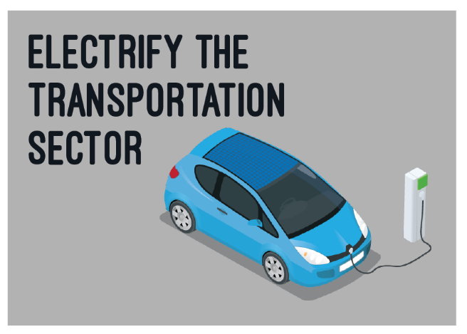 2030 Let S Replace More Than 7 Million Gasoline Cars With Electric Vehicles And Electrify Buses Trucks Too