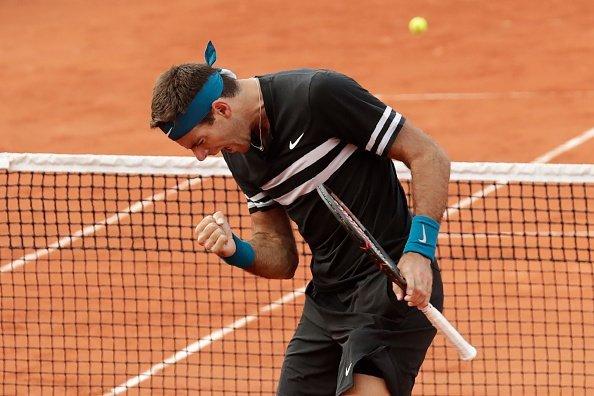 Tenis | En su vuelta, Del Potro debutó con éxito en Roland Garros