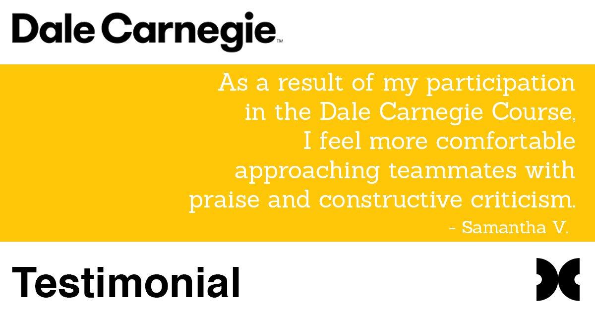 Dale Carnegie AZ on Twitter: