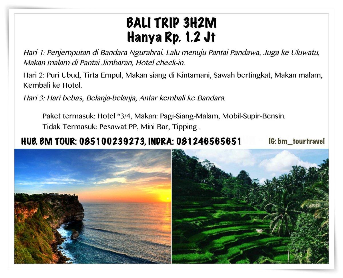Bm Tour Balimandiritour Twitter Paket Trip Bali 3h2m 0 Replies 2 Retweets Likes