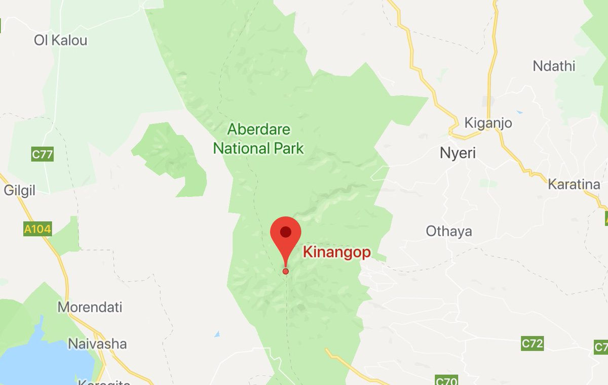 SEARCH for missing Fly540 plane narrowed to Kinangop area of the Aberdares as counselling centre set up at Weston Hotel. <br>http://pic.twitter.com/ikQkRVKXRl