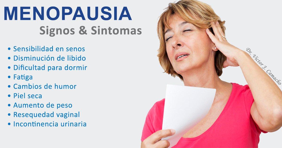 incontinencia urinaria sintomas menopausia