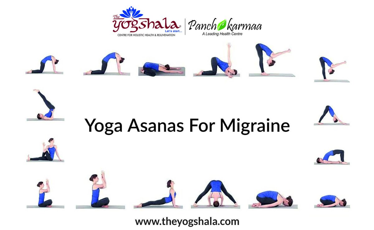 The Yogshala On Twitter Namo Gange Namaskar Get Fast Relief From Migraine Or Headaches In This Hectic Lifestyle Through Few Simple Yoga Poses For Any Query Call 91 7042818019 Https T Co Bspqsjv1ay Theyogshala Panchkarmaa