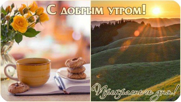 Открытки день, картинки с добрым утром рассвет осенью с надписями