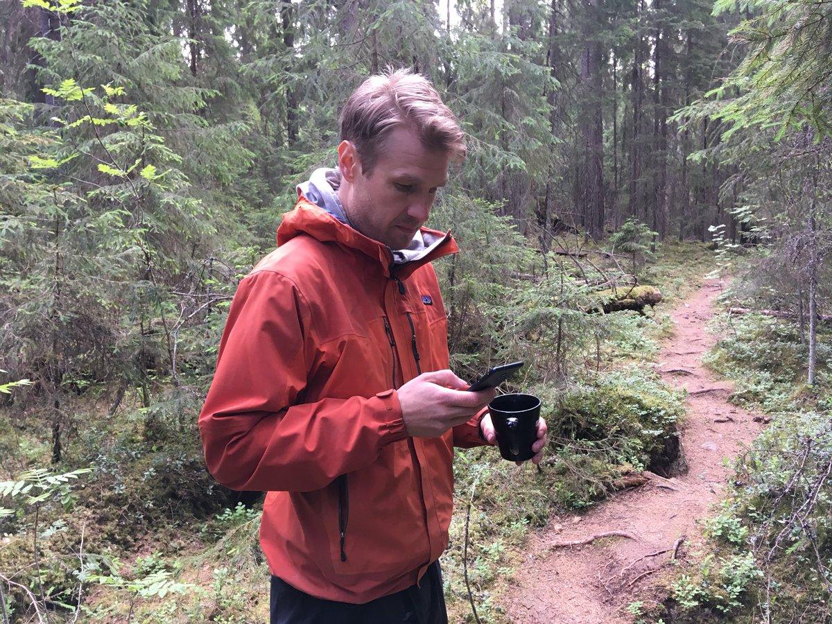 Luonnon helmassa #multitasking:kin on mukavampaa. #kintulammi