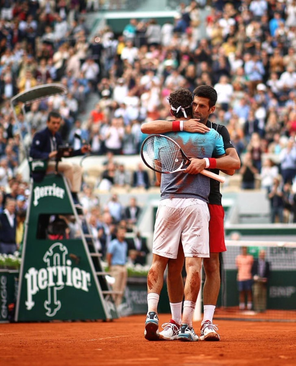Congratulations to Marco on his strong performance. Thank you Paris, thank you @rolandgarros 🙏❤
