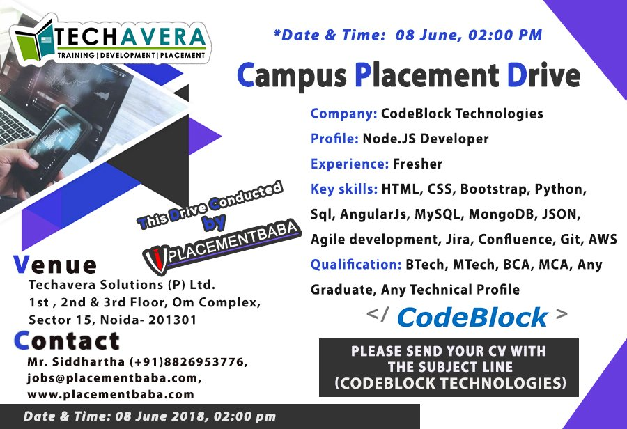 Techavera Noida on Twitter: