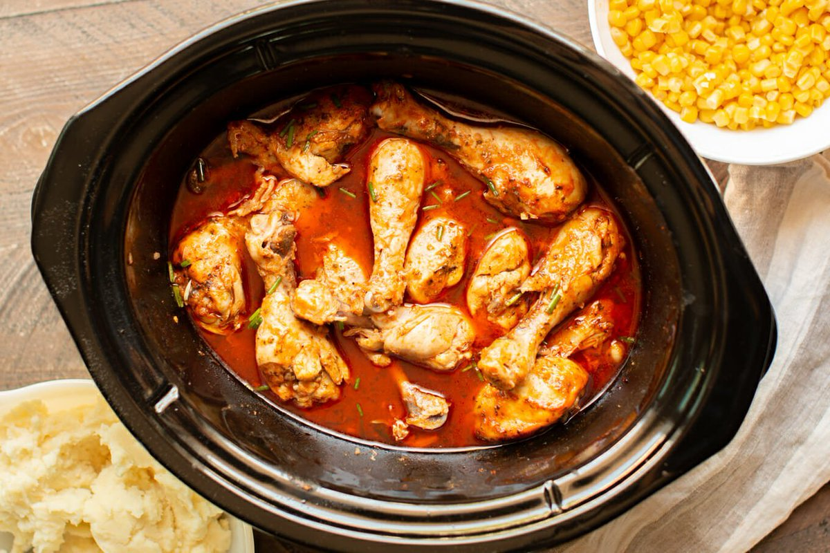 New post (Slow Cooker Buffalo Ranch Drumsticks) has been published on Cooking All Recipes - https://t.co/GVNazSpzKB https://t.co/WcMTJfcD9o