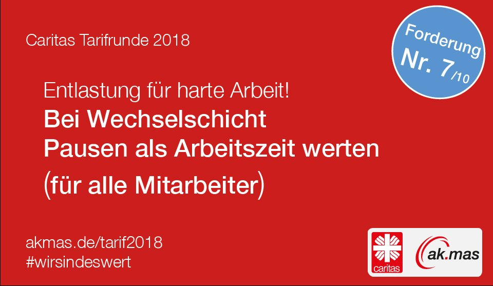 Caritas Akmas On Twitter Unsere Forderung Nr 710 In Der Caritas