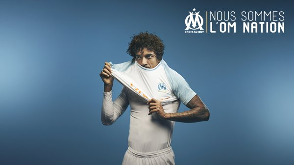Maillot Extérieur Olympique de Marseille Luiz GUSTAVO