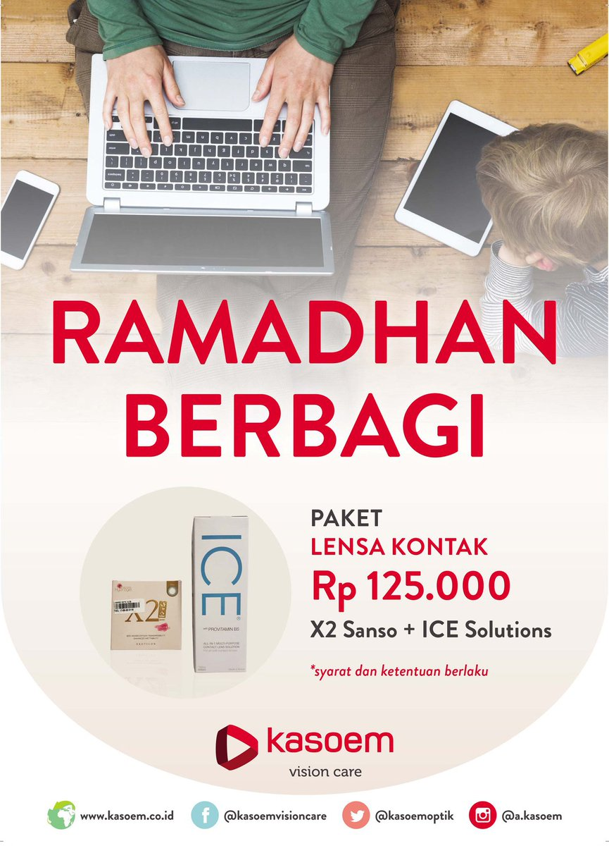 Promo Paket Lensa Kontak Rp125.000 (X2 Sanso + Ice Solutions) http  579b972913