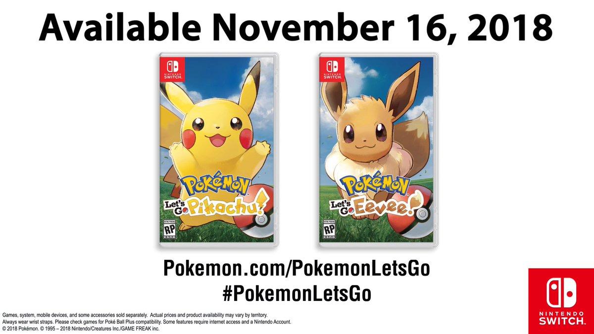 Ya A La Venta Pokemon Let S Go Pikachu Let S Go Eevee Ho