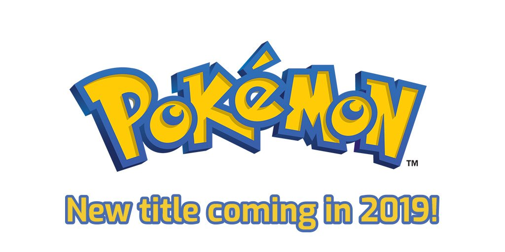 Pokemon New Title coming in 2019
