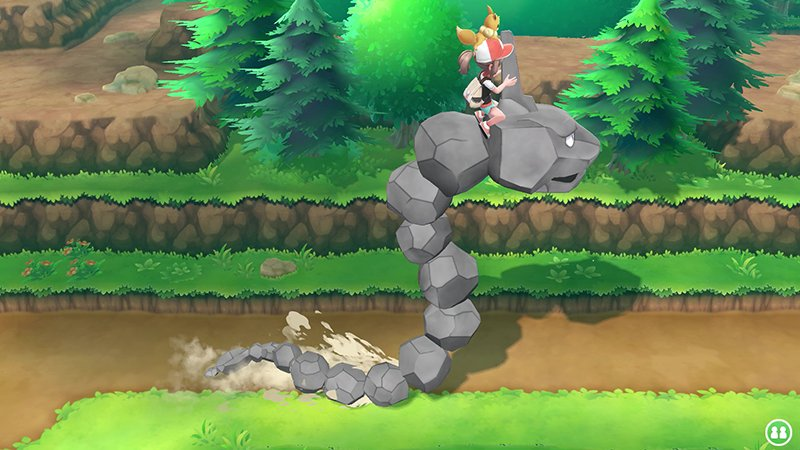 Pokemon, There's two new Pokemon games coming to the Switch and you can actually ride Onyx!