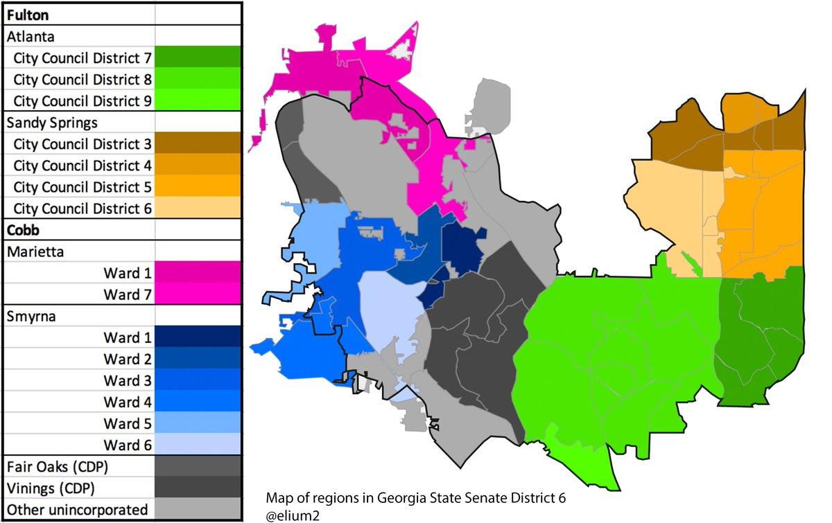 Eli On Twitter In Georgia S Sixth State Senate District Incumbent