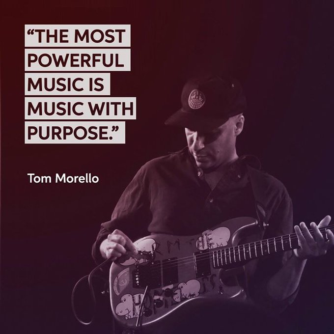 Happy birthday to the unique, unconventional and always creative Rage Against The Machine guitarist, Tom Morello!
