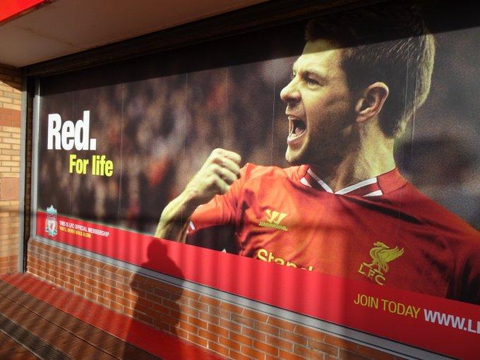 Happy Birthday Steven Gerrard!!!