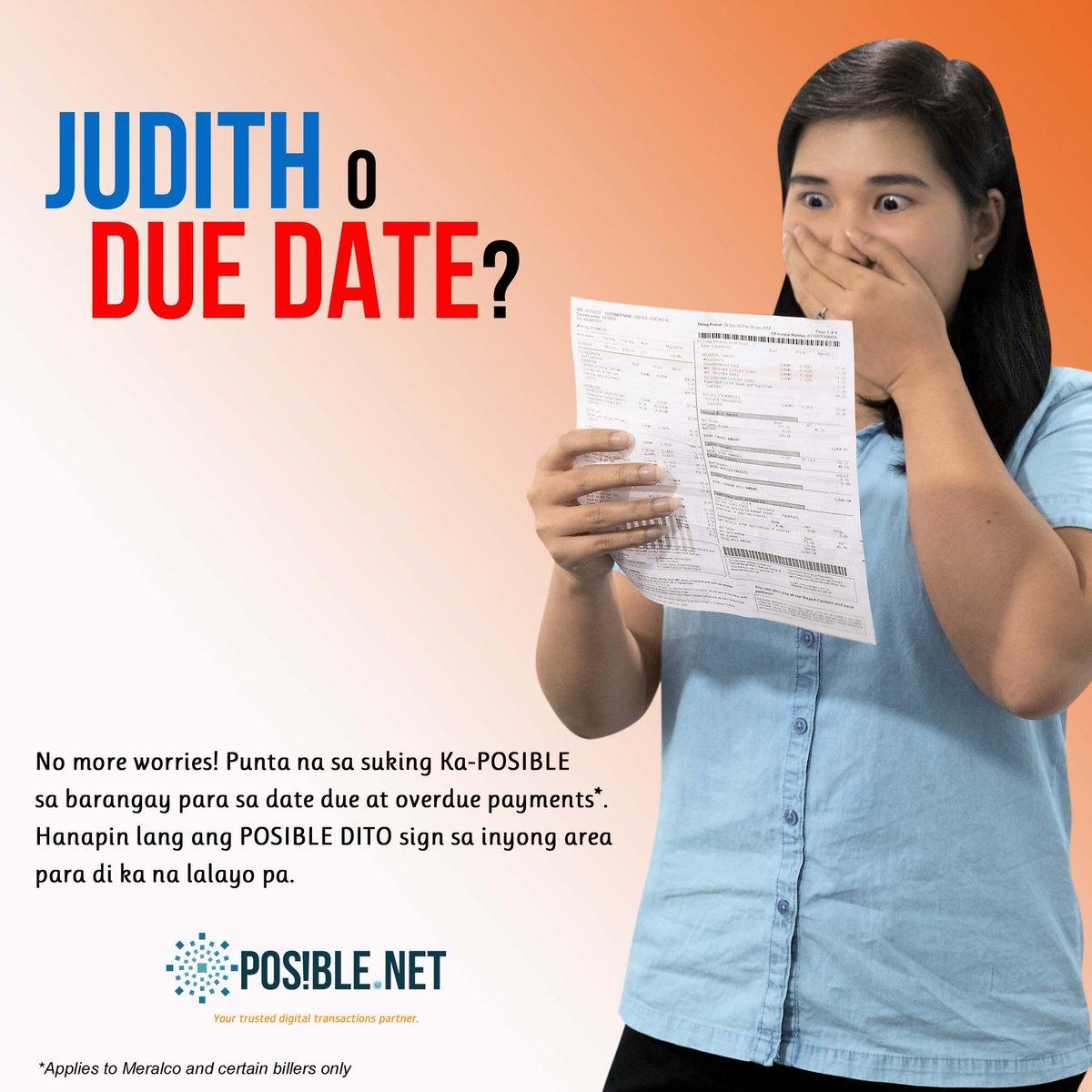 test Twitter Media - Di kailangang maging horror story ang pagdating ni #Judith! Hanapin lang ang #POSIBLEDITO sign sa inyong barangay para di ka na lalayo pa para sa date due at overdue payments. #lahatPOSIBLEdito https://t.co/zCgEb3WYqe