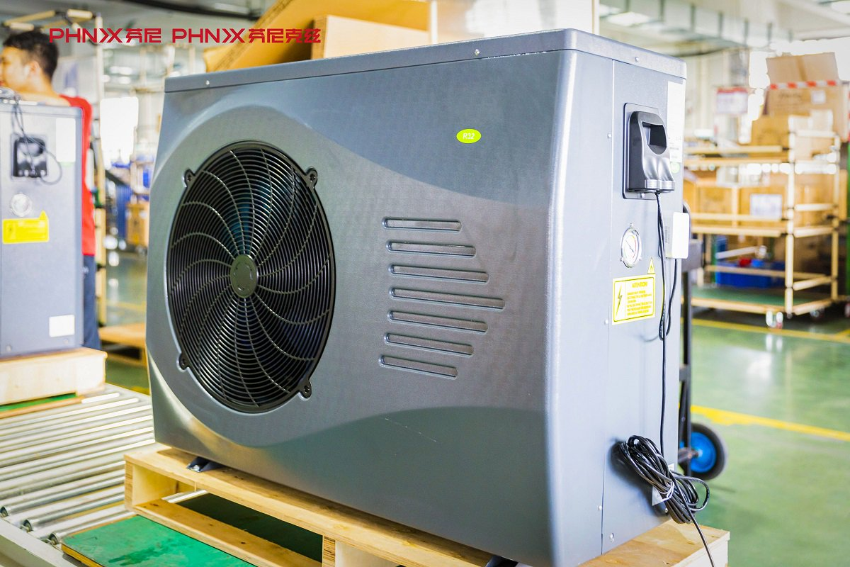 Phnix on twitter phnix first large batch size of r32 - Swimming pool heat pump manufacturers ...