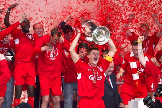 Happy birthday to Steven Gerrard.  Think this lad was decent
