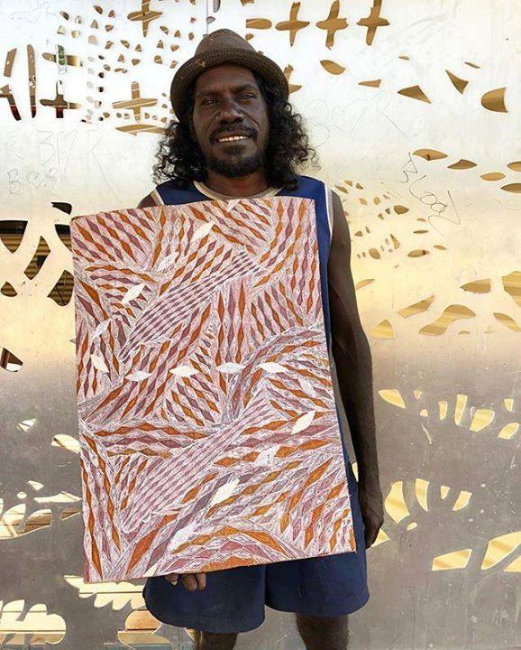 Exciting new work from Wurrandun Marawili. Natural earth pigments on stringybark. #indigenousart #art #artist #painting #naturalcolour #handmade #arnhemland #yolngupower #newwork #australiancontemporaryart https://ift.tt/2J1OBetpic.twitter.com/AN2IXD94KD