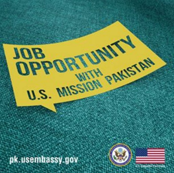 The U.S. Diplomatic Mission to Pakistan is an equal opportunity employer and is seeking the highest caliber staff. Check out our current vacancies for Procurement Agent #Islamabad👉 pk.usembassy.gov/embassy-consu…/…/current-vacancies/ APPLY NOW! #USPak #Job