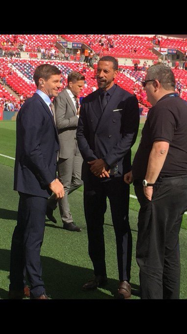 Happy 38th Birthday to manager Steven Gerrard, have a great day my friend