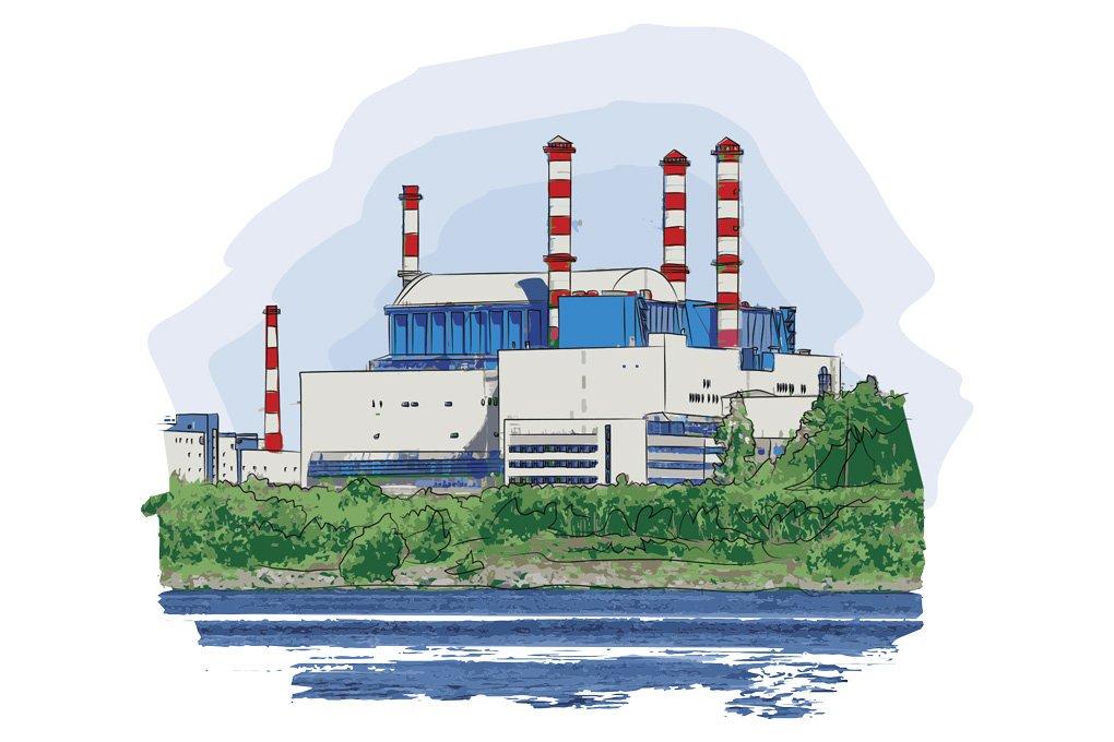 Картинки электростанций для детей