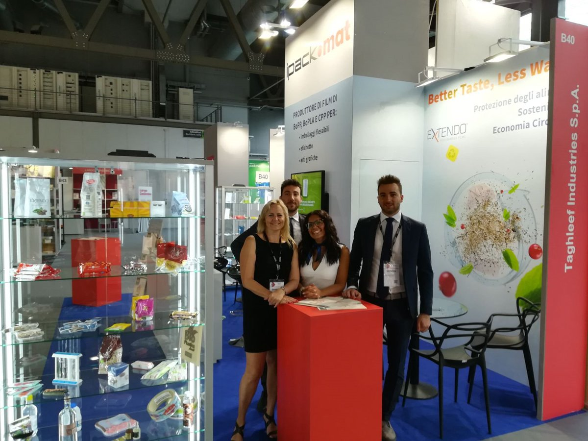 Meet us at our booth B40 Hall 14 at @ipackima2018 to discover everything about our EXTENDO® high barrier films and NATIVIA® biobased films, which open new and interesting opportunities. Looking forward to meeting you there! #TiExperience