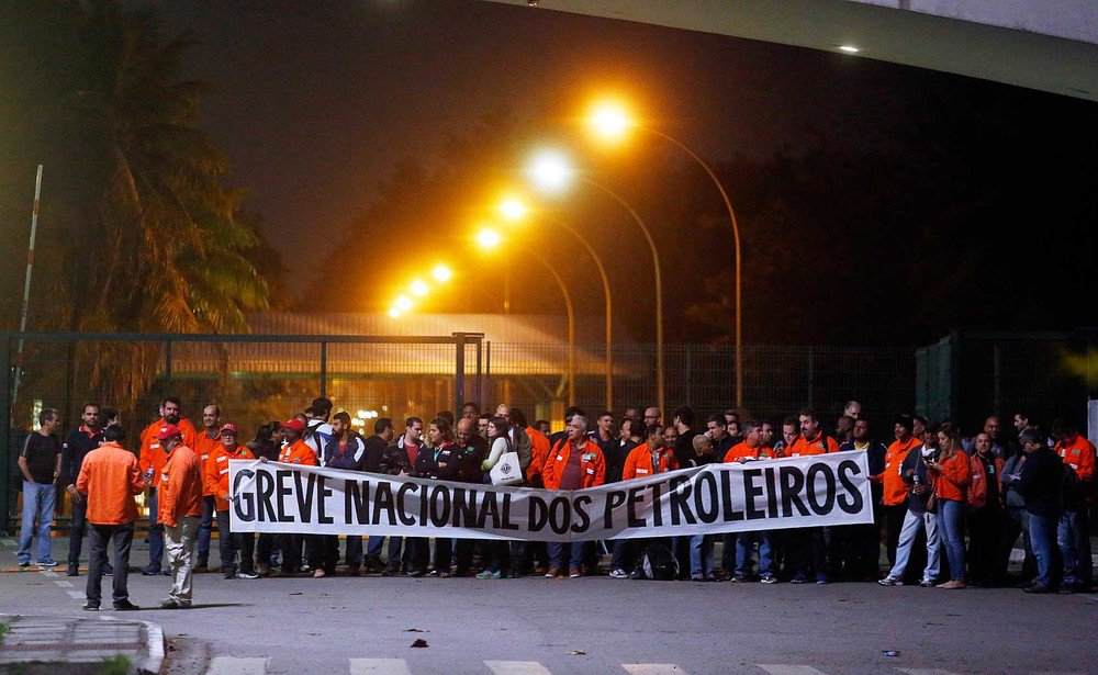 Petroleiros anunciam que estão em greve de 72 horas nas refinarias, diz federação https://t.co/MavWpwPJ39 #greve #G1