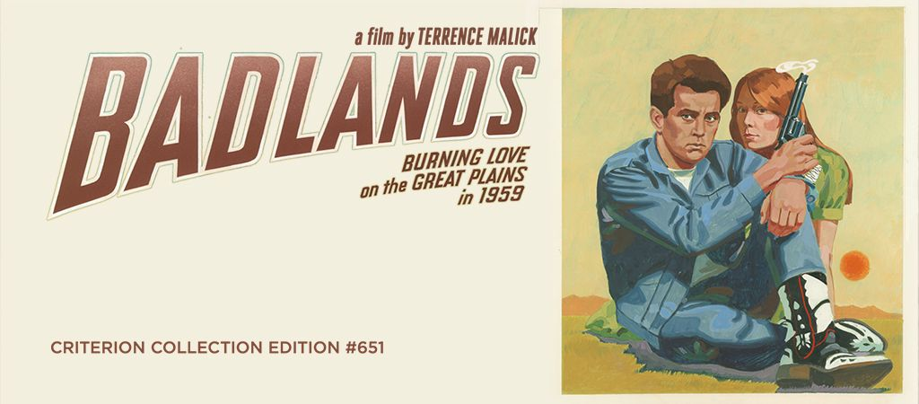 "Criterion Channel on Twitter: ""BADLANDS introduced many of the elements  that would earn Malick his devoted following the enigmatic approach to  narrative & character, the unusual use of voice-over, the juxtaposition of"